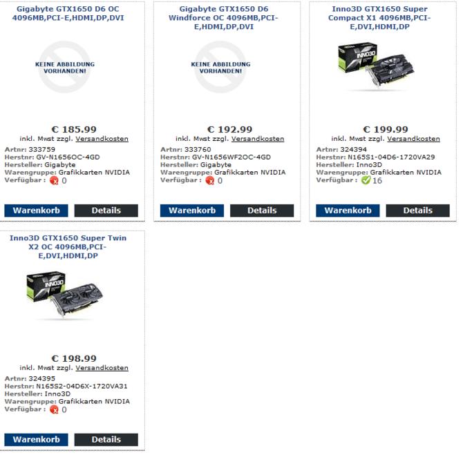 Gigabyte GTX 1650 GDDR6 - karty graficzne z nowym pamięciami [2]