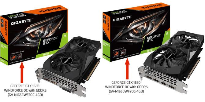 Gigabyte GTX 1650 GDDR6 - karty graficzne z nowym pamięciami [4]