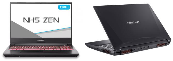 Hyperbook NH5 ZEN - laptop z desktopowymi układami Ryzen 3000 [4]