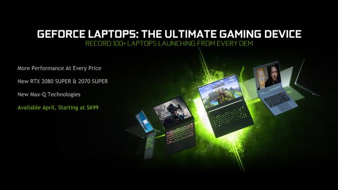 Nowe karty NVIDIA GeForce GTX i RTX 2000 SUPER dla notebooków [4]