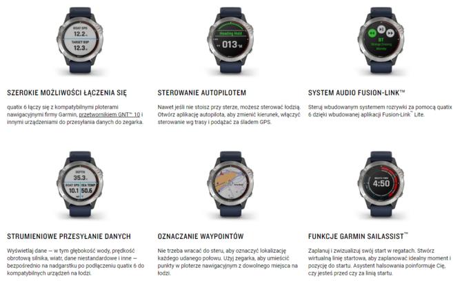 Garmin quatix 6: Smartwatche z myślą o żeglarzach i nie tylko [2]