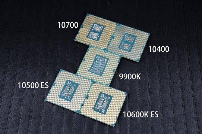 Intel Comet Lake-S - W sieci pojawiły się pierwsze testy procesorów [1]