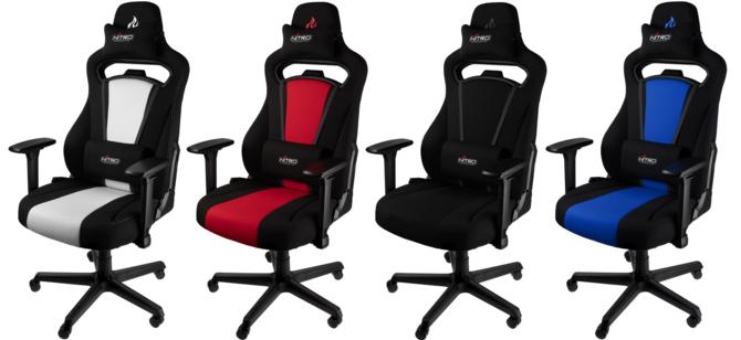 Nitro Concepts S250 - Fotele gamingowe z materiałowym obiciem [1]