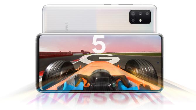 Samsung Galaxy A71 5G i Galaxy A51 5G - średniaki z modemem 5G [1]