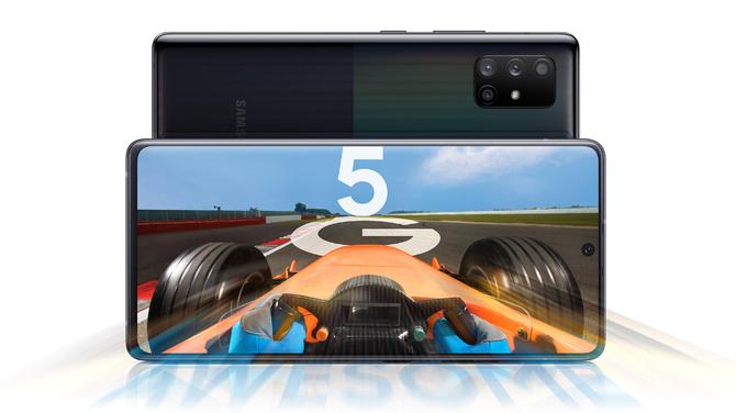 Samsung Galaxy A71 5G i Galaxy A51 5G - średniaki z modemem 5G [2]