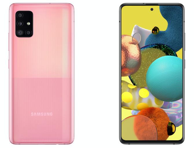 Samsung Galaxy A71 5G i Galaxy A51 5G - średniaki z modemem 5G [3]