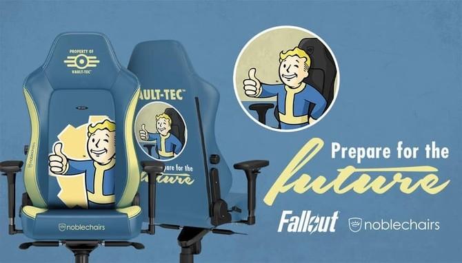 noblechairs zaprezentuje fotele stylizowane Falloutem i DOOMem [1]