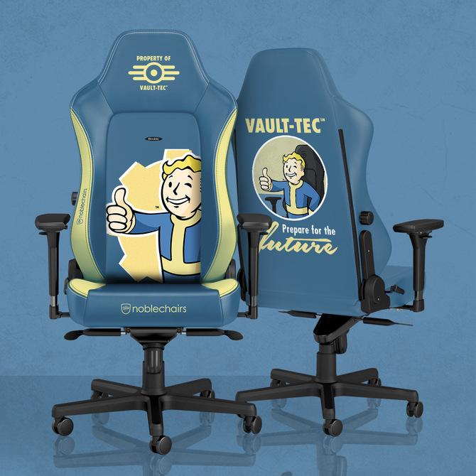 noblechairs zaprezentuje fotele stylizowane Falloutem i DOOMem [2]