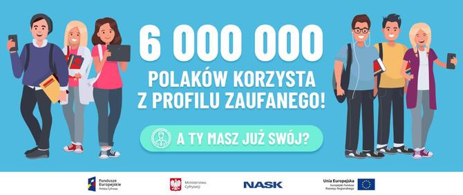 Profil Zaufany ma już ponad 6 mln Polaków. W marcu padł rekord [2]