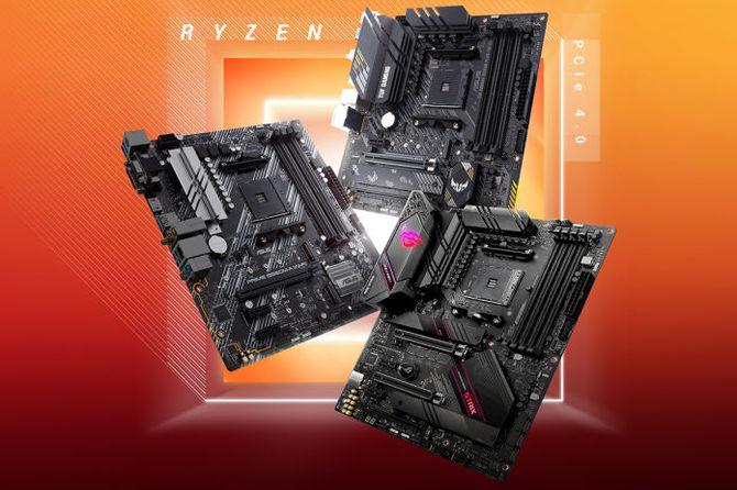 ASUS B550 - Przegląd płyt głównych dla AMD Ryzen 3000 [1]
