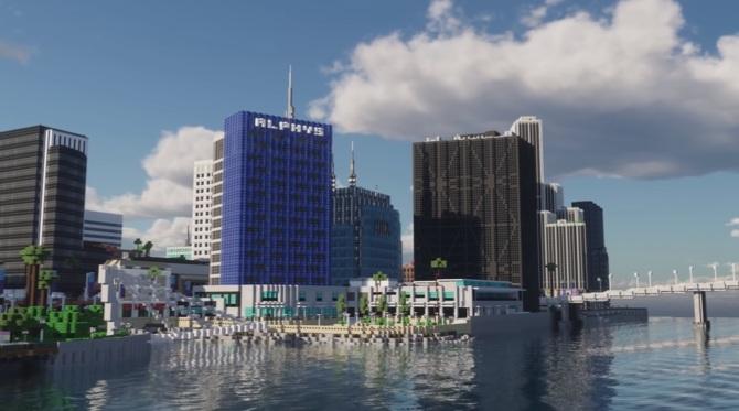 Minecraft: To miasto budowało 400 osób przez 9 lat. Efekt imponuje [1]