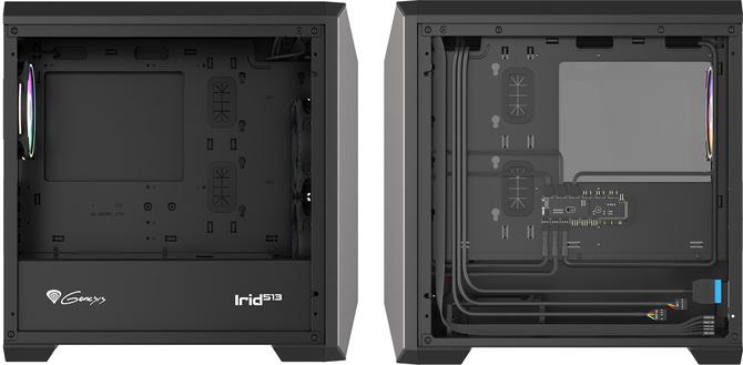 Genesis Irid 513 i Irid 515 - Stylowa obudowa w dwóch rozmiarach [3]