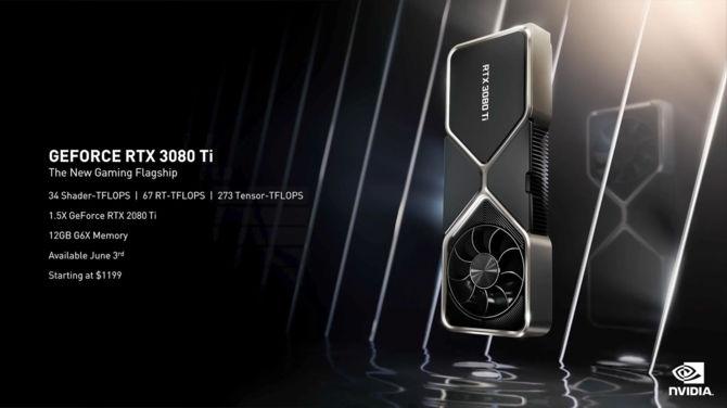 NVIDIA GeForce RTX 3080 Ti și RTX 3070 Ti - premiera noilor plăci grafice Ampere pentru fanii săi.  Știm prețurile oficiale [2]