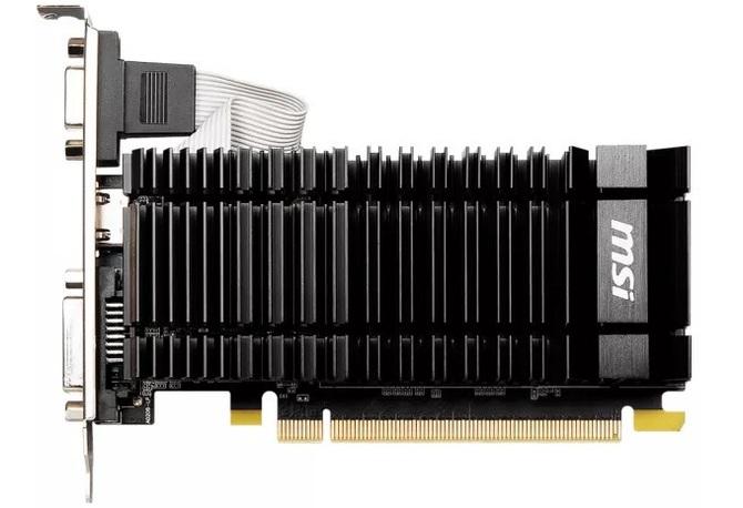 MSI readuce GeForce GT 730 pe baza arhitecturii Kepler.  A apărut prima dată în ... 2014 [1]