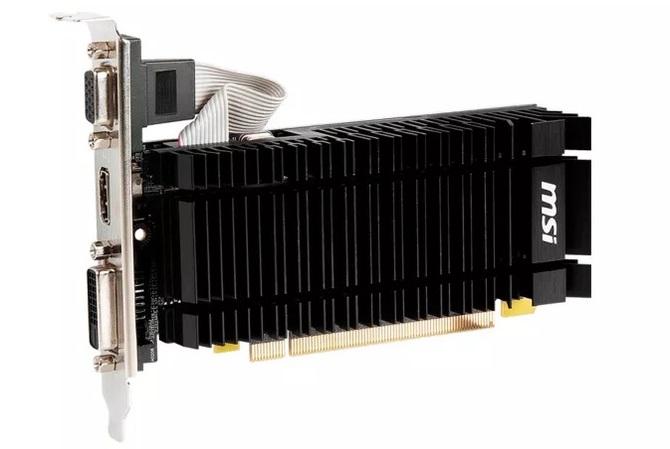 MSI readuce GeForce GT 730 pe baza arhitecturii Kepler.  A apărut prima dată în ... 2014 [2]