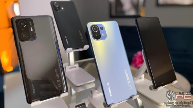 Premiera Xiaomi 11T, 11T Pro i 11 Lite 5G NE. Nowe smartfony stworzone dla kreatywnych użytkowników | PurePC.pl