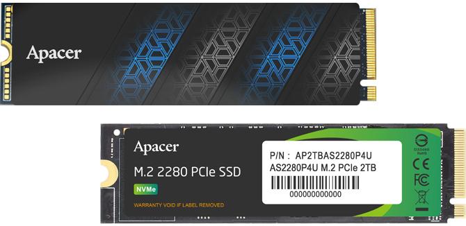 Apacer AS2280P4U Pro - Nośniki półprzewodnikowe PCIe 3.0 x4 z aluminiowym radiatorem, który zmieści się praktycznie wszędzie  [2]