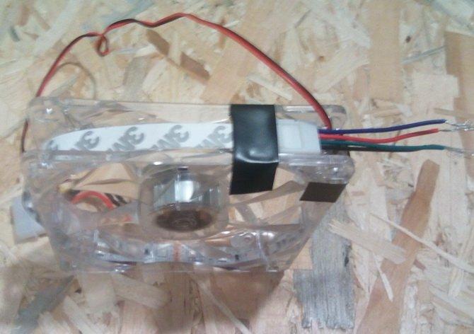 Jak zrobić cztery 120 mm wentylatory LED RGB za 75 złotych? [7]