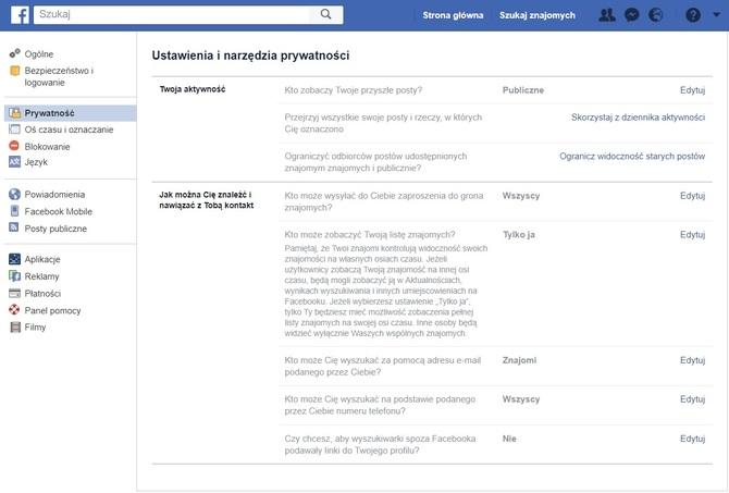 Co powinien wiedzieć fejsbukowicz, by chronić swoje dane [8]