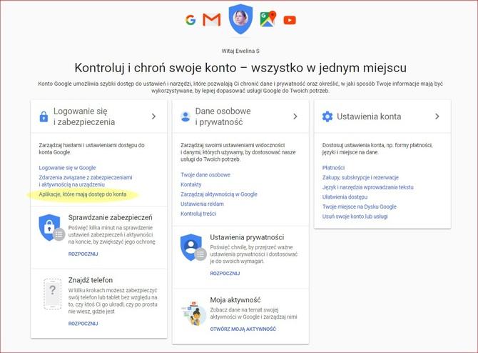 Poradnik: Jak wyłączyć dostęp do Gmail zewnętrznym firmom? [3]