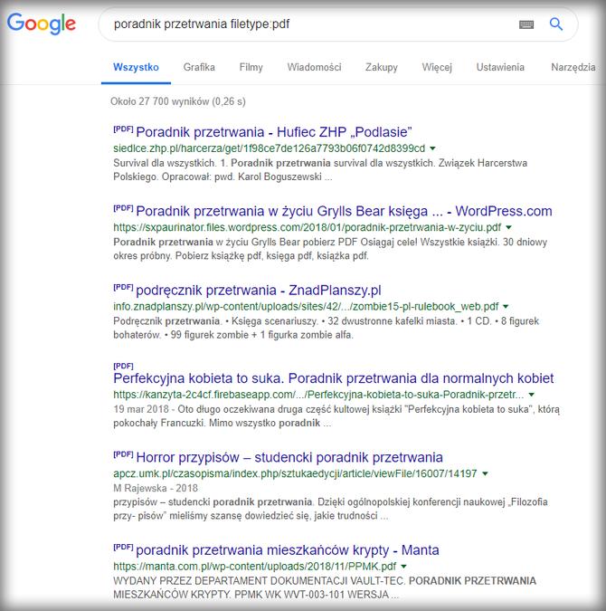 Jak efektywniej korzystać z wyszukiwarki Google: poradnik [10]