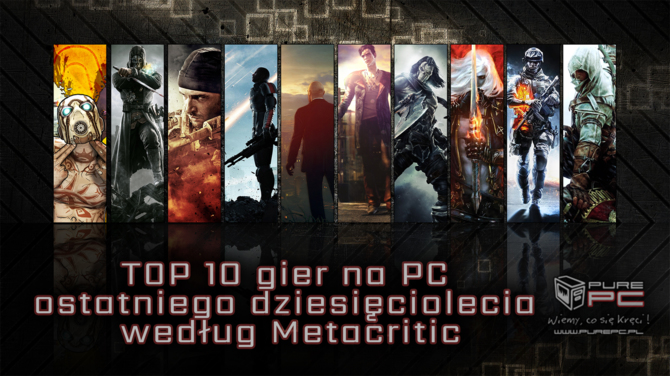 TOP 10 gier na PC ostatniego dziesięciolecia wg Metacritic [1]